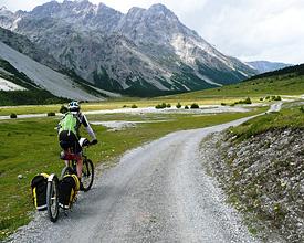 L'Alpine bike au plus proche de la nature