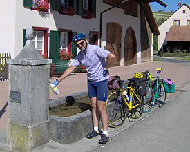 Da Basilea ad Aosta – dal 13 al 20 luglio 2005 – Km 550 Totali.