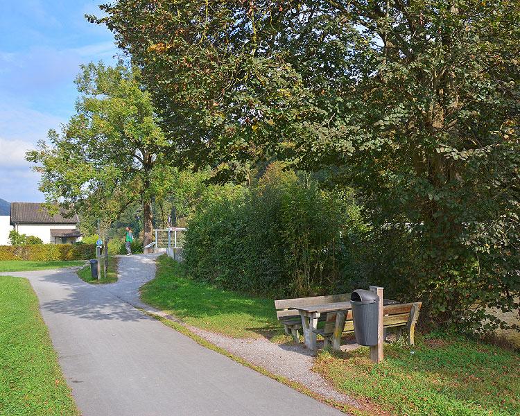 Abzweigung zum Tierpark Langenberg