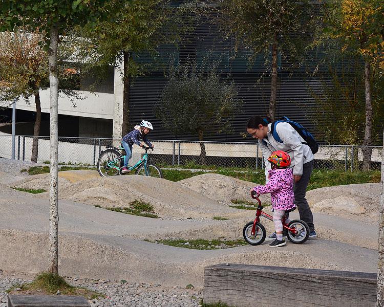 Bikepark beim Sihlcity