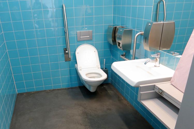 WC Restaurant Turbinenhaus
