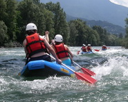 Geführte Tour: Fun-Rafting Ticino