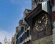 Der Zeitglockenturm von Solothurn