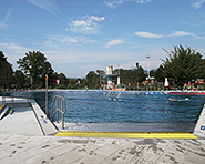 Aarau outdoor swimming pool