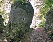 Formalità doganali alla «Glögglifels»