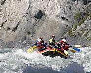 Vorderrhein Raft