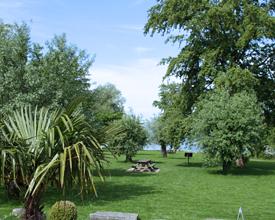 Lakeside bathing area Mörigen