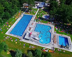 Giessenpark outdoor swimming pool Bad Ragaz