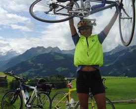 Auf dem Velo quer durch die Schweiz